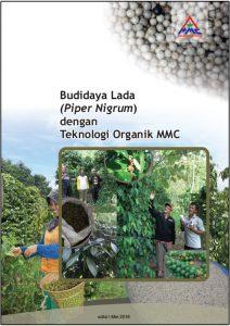 Cover Modul Budidaya Lada Piper Nigrum dengan teknologi organik mmc