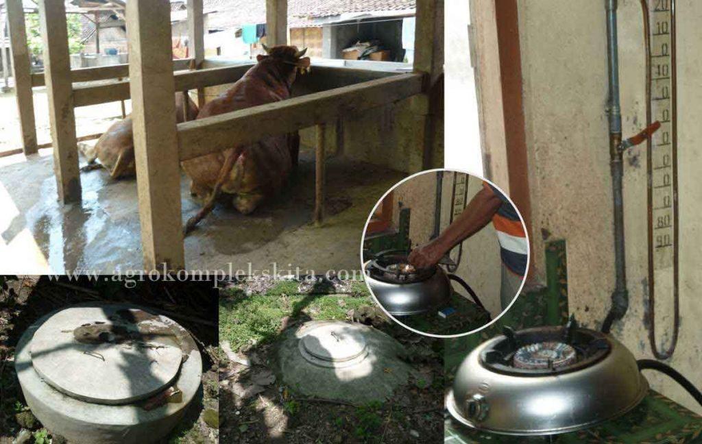 instalasi bio gas skala rumah tangga - litbang mmc