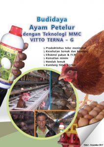 cover modul budidaya ayam petelur dengan teknologi vitto dari mmc - edisi I